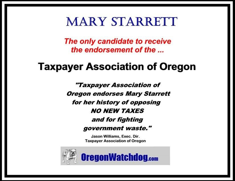Taxpayers Association of Oregon