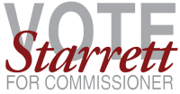 Starrett For Commissioner